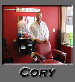 Cory at Roys Barber Shop Water Street Eau Claire