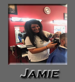 Jamie at Roys Barber Shop Water Street Eau Claire