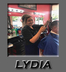 Lydia at Roys Barber Shop Water Street Eau Claire